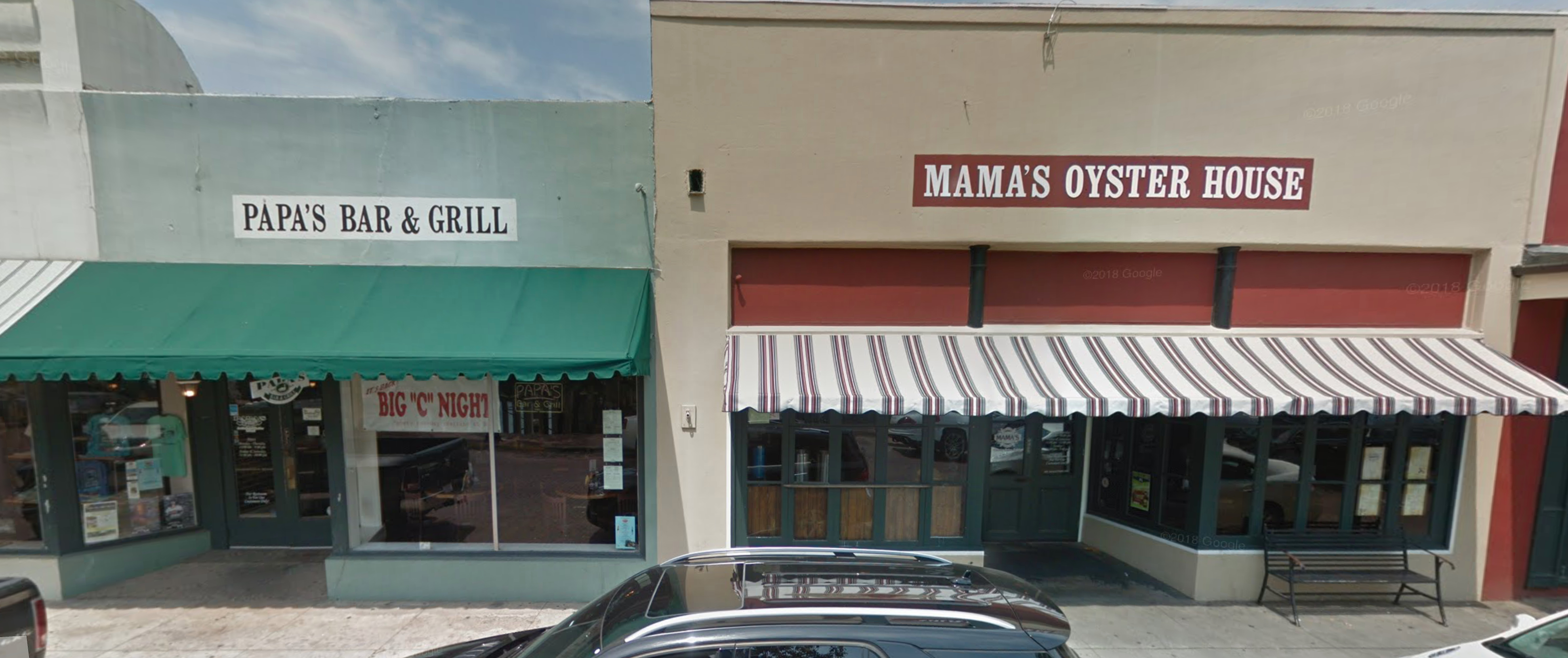 Papa's and Mama's on Streetview