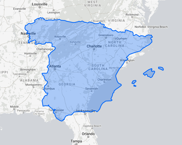 The True Size of Spain